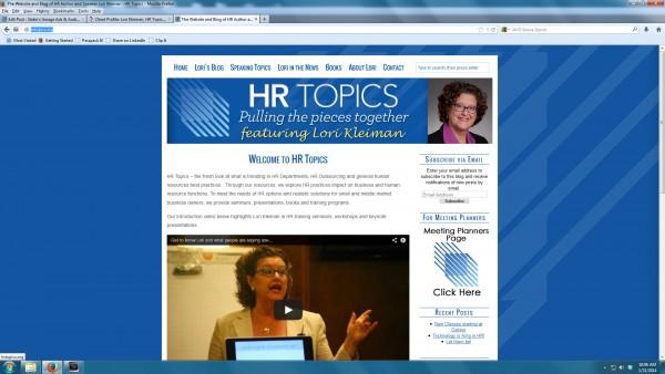 HRTopics Home Page